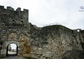 Main entrance of the castle of Berat