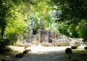 Inside the archeologic park of Butrint