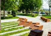 Green space in Berat